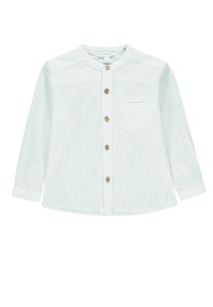 Bellybutton Leinenhemd mit Stehkragen in weiß