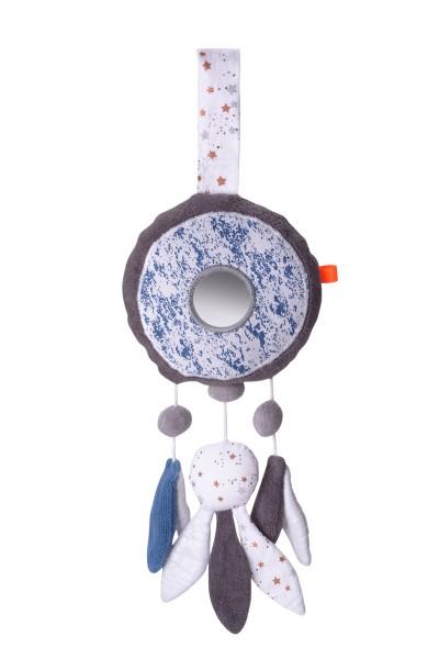 Kikadu Spieluhr - GOTS zertifiziert - Taumfänger in Blau