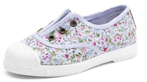 Natural World eco friendly Schuhe mit Blumenmuster