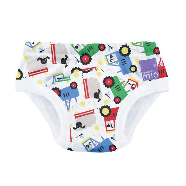 Bambino Mio Potty Training Unterhose - Traktoren