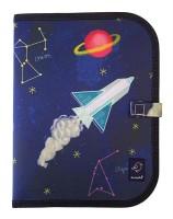 Jaq Jaq Malmatte mit 4 Kreiden - Weltraum
