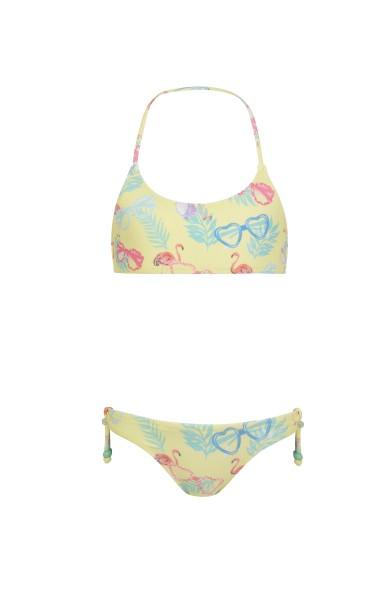 Sunuva Bikini in Gelb Miami Flamingo