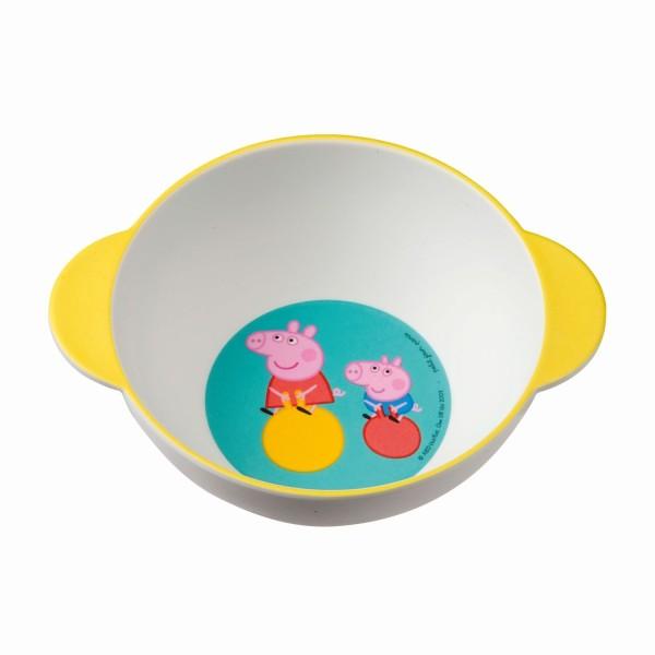 Petit Jour Melamin Schale Schüssel - Peppa Pig