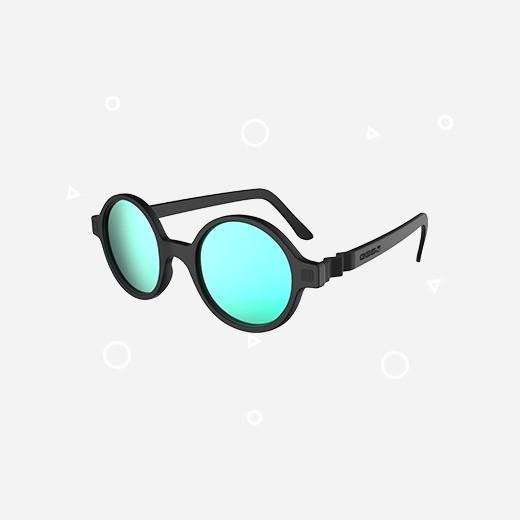 KiETLA Kinder-Sonnenbrille RoZZ (UV-Schutz 3) mit schwarzem Rahmen