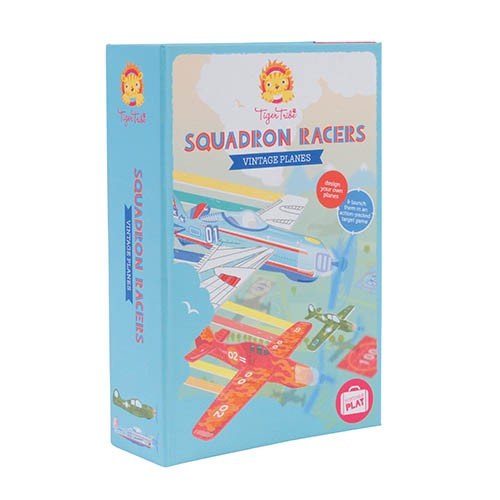 Tiger Tribe Squadron Racers Vintage Planes - Flugzeuge