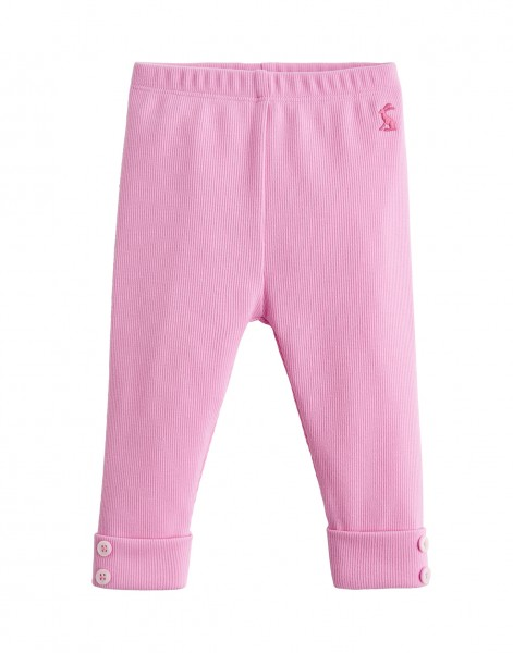 Tom Joule Feinripp Leggings Rosa