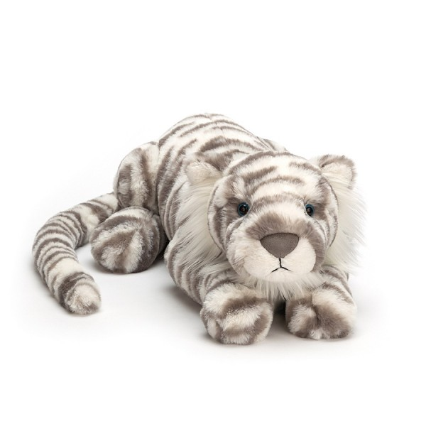 Jellycat Sacha Snow Tiger