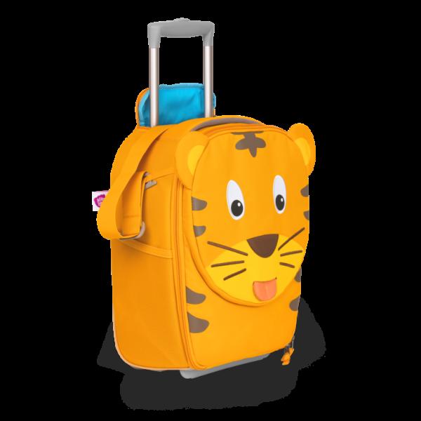 Affenzahn Kinderkoffer mit Roller - Tiger