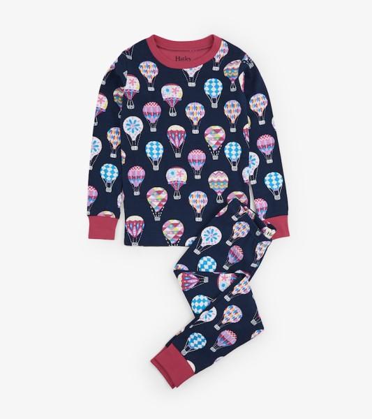 Hatley Langarm Pyjama - Balloons allover