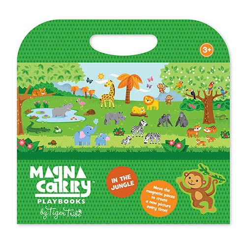 Tiger Tribe Magna Carry - Magnet Spielzeug Set to Go - Dschungel