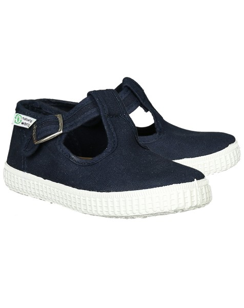 Natural World eco friendly Schuhe in Navy