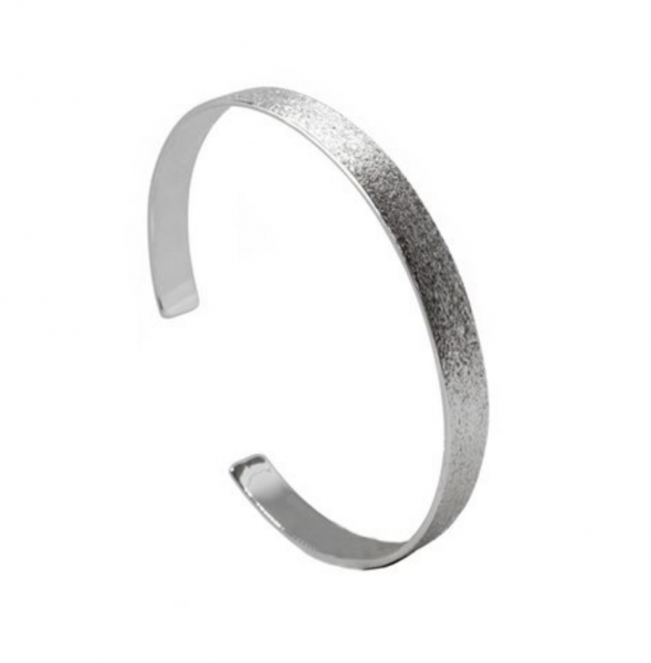 Aqua Dulce Armreif BRUSHED - 925Sterling Silber