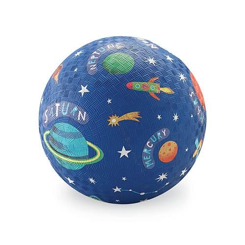 Crocodile Creek Spielzeug Ball - Naturgummi - Space - Weltall