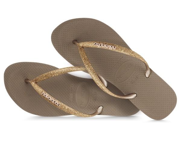 Havaianas Flip Flop Gold Glam