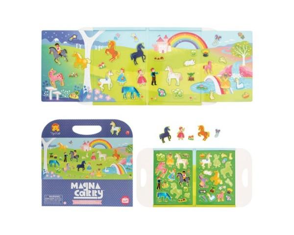 Tiger Tribe Magna Carry - Magnet Spielzeug Set to Go - Unicorn Kingdom