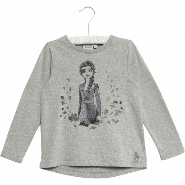Wheat langarm Shirt glitzer Elsa in grau