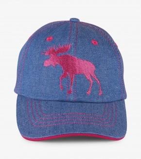 Little Blue House Cap - Denim Moose - Elch