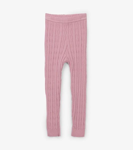 Hatley Baby Strick-Legging in rosa