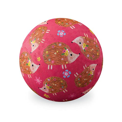 Crocodile Creek Spielzeug Ball - Naturgummi - Hedgehogs - Igel - Groß