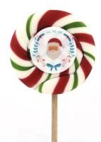 Kamellebüdchen HoHoHo Weihnachtsmann - handgemachte Lutscher