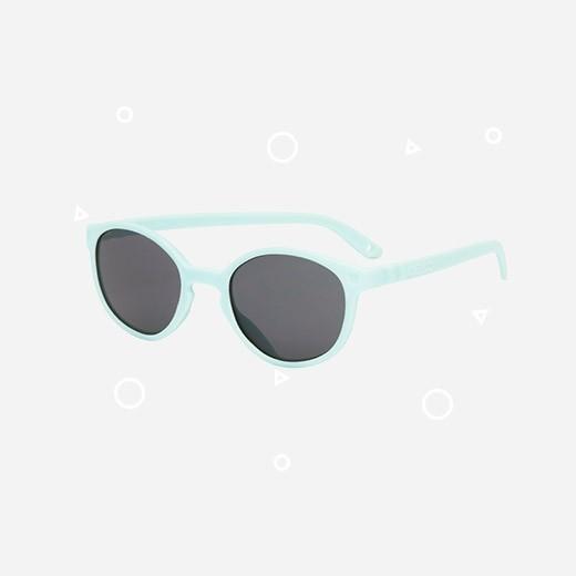 KiETLA Kinder-Sonnenbrille WAZZ (UV-Schutz 3) mit hellblauem Rahmen