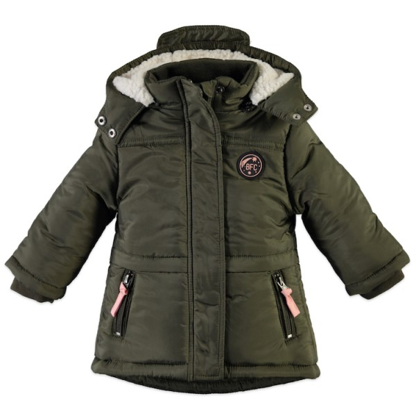 Babyface Girl Parka Winterjacke in Oliv