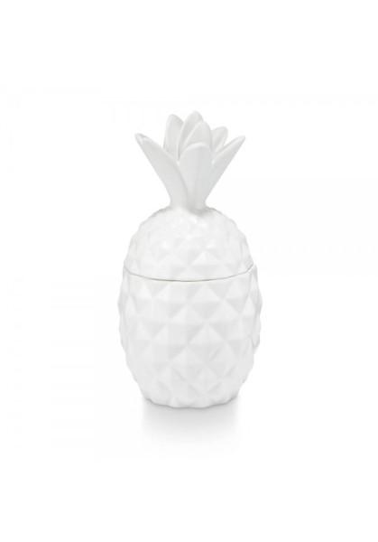 Illume Happy Go Lucky Keramik Ananas Duftkerze - Citrus Crush