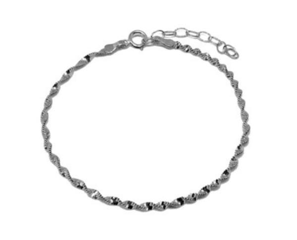 Aqua Dulce Armband Sterling Silber MEXI SWIRL