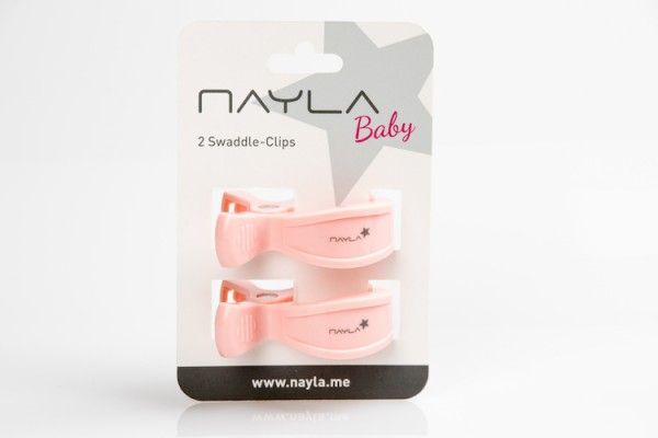 Nayla Swaddle Clips - Hellrosa