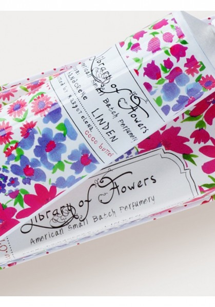 Library of Flowers Linden Handcreme