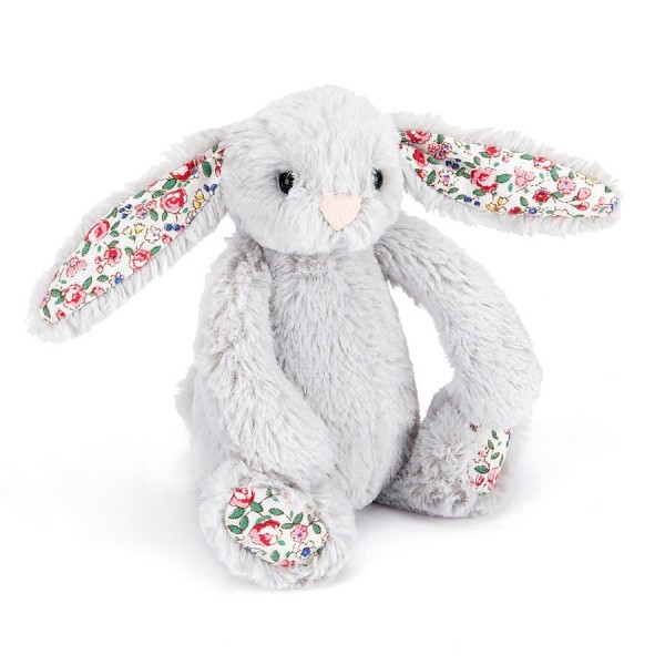 Jellycat Baby Blossom silver Bunny