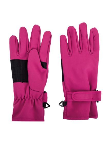 Maximo Softshell Handschuhe - Fuchsia