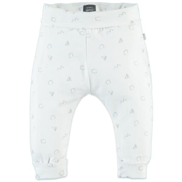 Babyface Jersey Hose in weiß & grau
