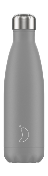 Chilly's Flasche Monochrome Grau - 500 ml