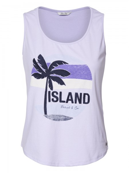 Petrol Industries Singlet Top in Lila - Island