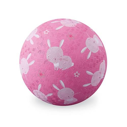 Crocodile Creek Spielzeug Ball - Naturgummi - Bunny - Hasen - Groß