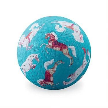 Crocodile Creek Spielzeug Ball - Naturgummi - Pferde