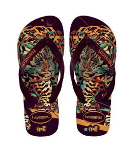 Havaianas Flip Flop Tiger Braun