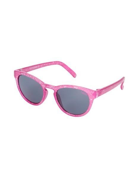 LE BIG Glitzer Sonnenbrille - Pink