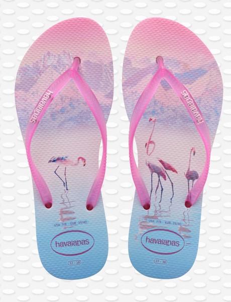 Havaianas Flip Flop Slim Paisage - Flamingo Beach