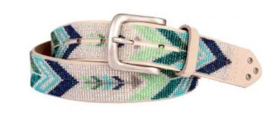 Smitten Perlengürtel Darts Ocean blau/grün