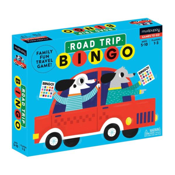 Mudpuppy Road Trip Bingo - Spiele to go