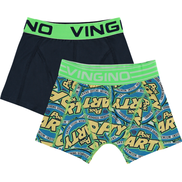 Vingino Boxer Set Party grün/blau
