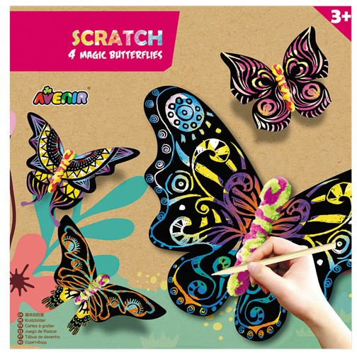 Avenir Scratch Schmetterling