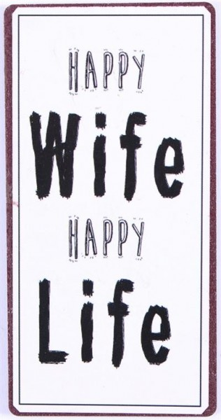 Lafinesse Magnet - Happy Wife Happy Life