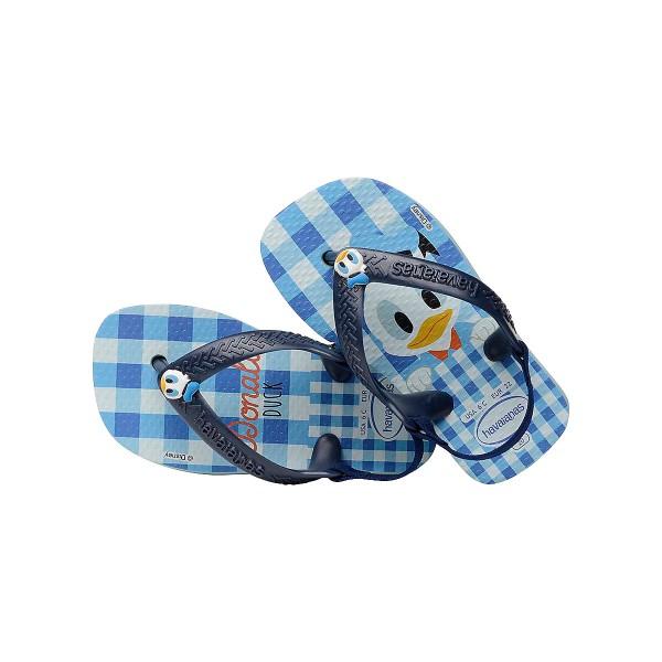 Havaianas Baby Flip Flops Disney Donald Duck Blau