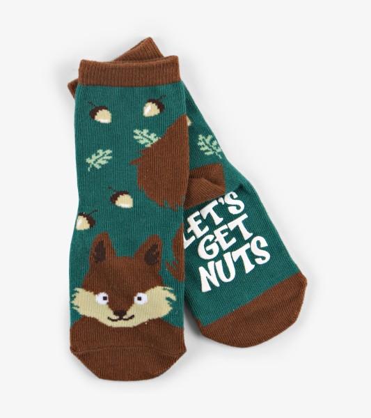 Little Blue House Nutty Squirrel - Eichhörchen Stopper Socken