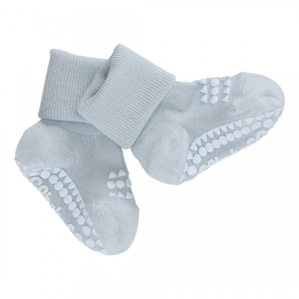 GoBabyGo Grip Bambus Stopper-Socken in Hellblau
