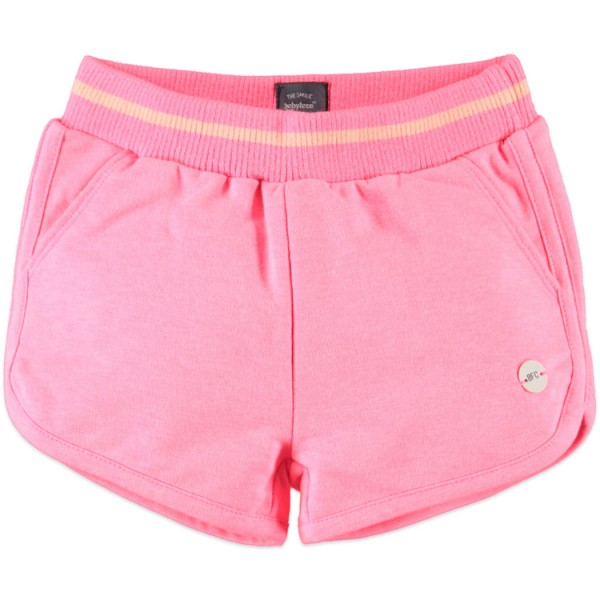 Babyface Jersey Short in Neon Pink