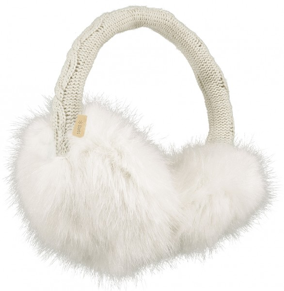 Barts Fur Earmuffs in weiß - One Size